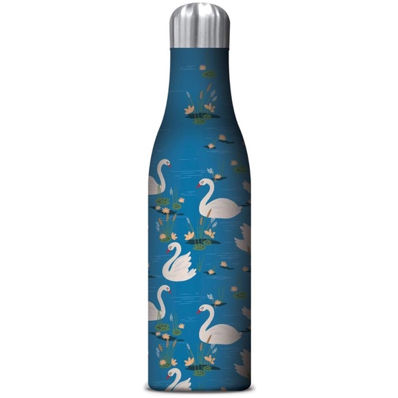 Studio Oh! Other - Studio Oh! Swan Lake 25oz Insulated Water Bottle